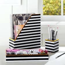 gold desk accessories target gold desk accessories printed desk accessories black white stripe
