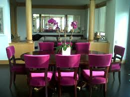 purple leather dining room set sets inspirations with table