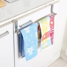 hanging ls for kitchen stainless steel towel bar holder kitchen cabinet cupboard door