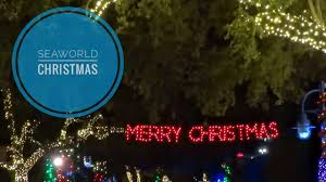 2016 seaworld orlando christmas celebration overview rudolph