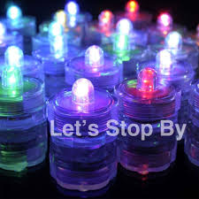 Waterproof Vase Lights 12 Multi Color Change Led Submersible Wedding Waterproof Floral