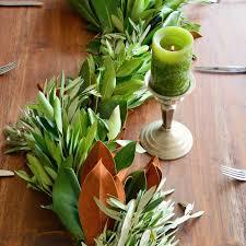 magnolia leaf garland fresh christmas garland greenery garland garland