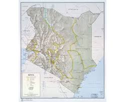 Map Of Uganda Africa by Maps Of Kenya Detailed Map Of Kenya In English Tourist Map