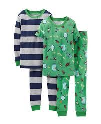 s toddler pajamas boys 4 pj set toddler kid bugs