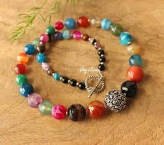 beads necklace images Multi coloured beads necklace earring set designer beaded jewelry jpg