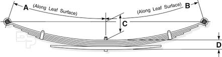 2000 dodge durango leaf springs how to properly measure a leaf sd truck springs leaf