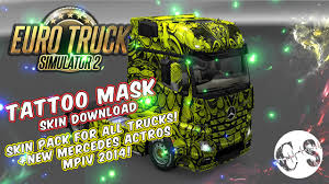 skin pack new year 2017 for iveco hiway and volvo 2012 2013 download ets 2 tattoo mask skin pack for all trucks new
