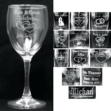 knife sharpening grinder personalized wedding champagne glasses in