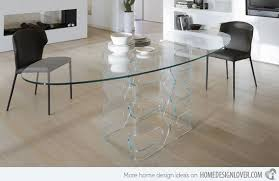 oval glass dining table stunning glass oval dining room table pictures new house design