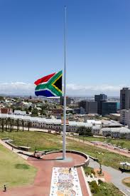 Image Of South African Flag File Southafrican Flag Halfmast Jpg Wikimedia Commons