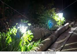 Solar Lights Garden Solar Garden Lights Stock Images Royalty Free Images U0026 Vectors