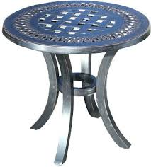 white patio side table patio accent tables patio accent table elegant wrought iron