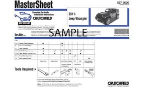 crutchfield car audio installation instructions instructions for