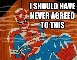 Retro Spiderman Meme - image 211841 60 s spider man know your meme