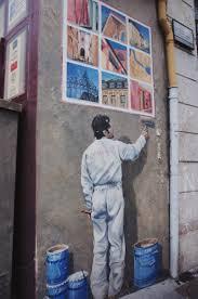 canap駸 lyon 法國 里昂 燈節之旅 上 里昂必訪街道 壁畫巡禮 紅十字山斜坡 尤