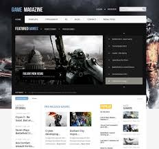 game magazine v2 7 gavick joomla 2 5 template retail scriptmafia