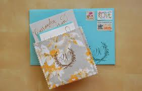 pocket wedding invitations diy rubber st fabric pocket wedding invitations