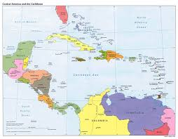 St Martin Map Maps Of Central America And The Caribbean And Map In Spanish