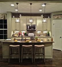 landscape gallery hanging pendant lights over kitchen island