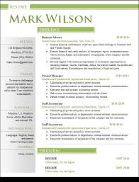 Finance Resume Templates Sample Creative Resume 18 Documents In Word