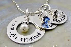 grandmother necklaces amazing chic personalized grandmother necklace russian