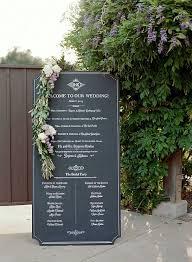 Wedding Program Board Luxefinds Com The Luxury Search Engine For Women