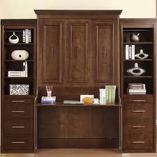 natanielle full murphy bed with desk and 2 storage cabinets