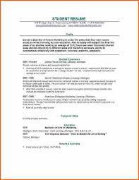 graduate application resume template examples of graduate