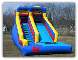 16 ft backyard inflatable water slide for rent