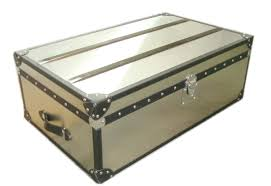 inspiration stainless steel trunk coffee table for inspiration to