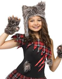 Werewolf Halloween Costumes Girls Wick U0027d Wolfie Child Halloween Costume Walmart