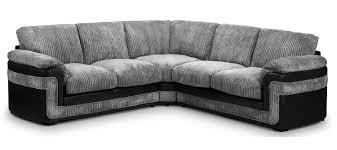 Grey Fabric Chesterfield Sofa by Fabric Corner Sofa 2a2