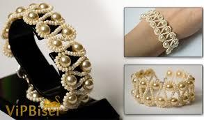 beaded bracelet with pearls images Beaded bracelet with pearls 3d tutorial jpg