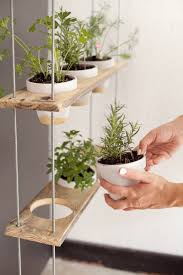 Herb Shelf Custom Potted Hanging Herb Garden Diy Fresh Mommy Blog Fresh
