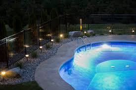 Pool Landscape Lighting Ideas Outdoor Lighting Around Swimming Pool Pool Landscape Lighting