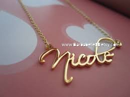 Name Chains Gold Best 25 Personalized Necklace Ideas On Pinterest Wedding