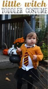 easy diy little witch hermione toddler halloween costume sisters