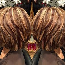 shades of high lights and low lights on layered shaggy medium length this is the color and highlights i want so far i got it but not as