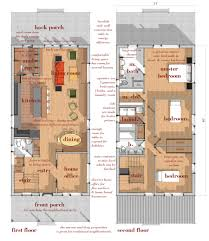 wood narrow lot modern infill house plans modern house design