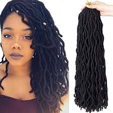 14 inch hair extensions 6packs 14 wavy faux locs crochet hair braids twist