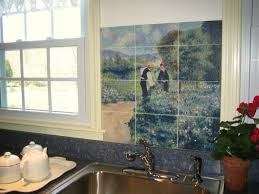 kitchen wall mural ideas kitchen fetching kitchen design ideas parrot tile kitchen