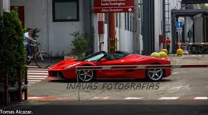 ferrari laferrari crash laferrari spider spotted on the road u2013 gaskings