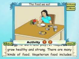learn evs class 2 the food we eat animation youtube
