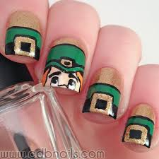 51 best st patricks day nail art images on pinterest nails