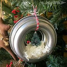 artsy vava mini bundt pan ornaments