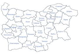Map Of Bulgaria Ebls