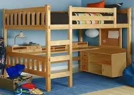 full size loft bed with workstation u2013 act4 com