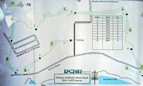 Iup Map Prince Gallitzin State Park Professional Disc Golf Association