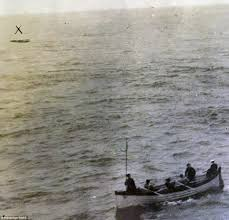 the titanic u0027s last lifeboat pictured which still contained rotting