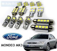 car light bulb replacement interior car led bulbs replacement kit for ford mondeo mk3 11pcs